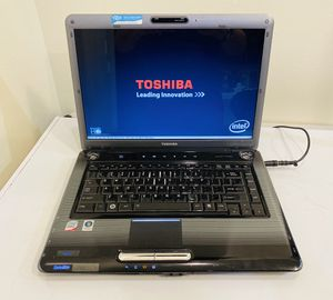 """Toshiba LAPTOP Core 2Duo @2,0 GHz, Missing HDD, 2G RAM, Camera, WIFI/DVD/3 USB/VGA/E-SATA/Card Reader/15,5"""" Screen. Charger. For Parts or to be Fixed for Sale in Fort Lauderdale, FL"""