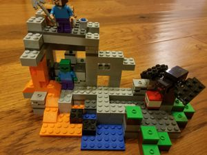Minecraft lego, the cave. 21113 for Sale in Falls Church, VA