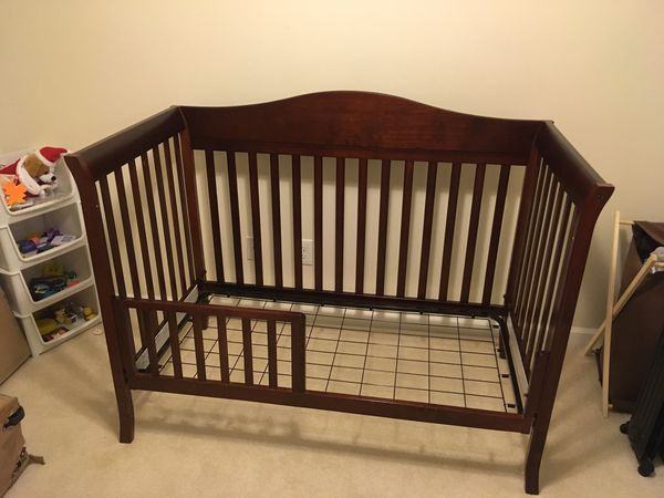 Crib and dressing table