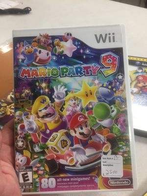 Mario party 9 for Sale in Round Lake Heights, IL