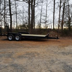18ft Haul'n trailers Equipment hauler 14k gvwr for Sale in Cary, NC