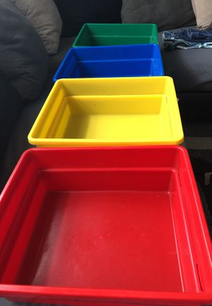 Storage containers no lids for Sale in Claymont, DE