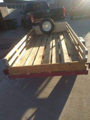 4x8 trailer like new w title on hand for Sale in Las Vegas, NV