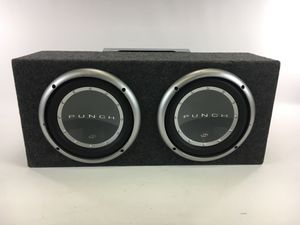 """Rockford Fosgate Punch P2 12"""" Subwoofer w/ P3002 Amplifier and capacitor for Sale in Cleveland, OH"""