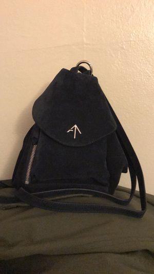 MANU Atelier Fernweh Bag Navy Suede for Sale in Berkeley, CA