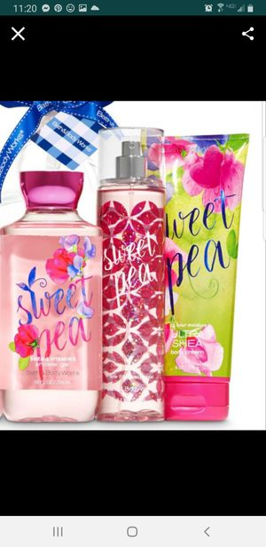 BATH AND BODY WORKS- SWEET PEA for Sale in Stanton, CA
