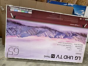 We are having warehouse clearance we have every kind of TV from 32 inches to 75 inches and all this TV is new and is on sale The prize stats from $50 for Sale in Tulsa, OK