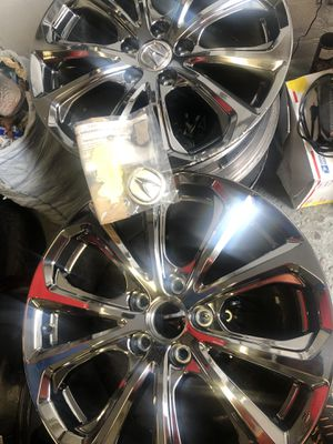 Black chrome Acura rims for Sale in West Haven, CT