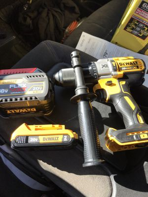 Dewalt drill and batteries for Sale in Fort Lupton, CO
