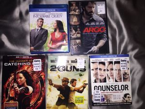 5 DVDs for Sale in North Bethesda, MD