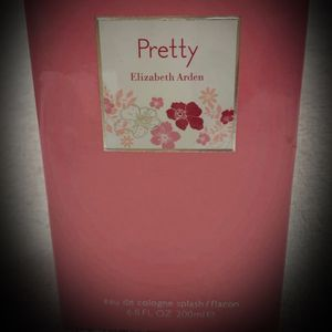 WOMEN Elizabeth Arden PRETTY Eau de Cologne Perfume Splash for Ladies LUXURIOUS FULL SIZE 6.8 fl oz! NEW IN BOX NIB for Sale in San Diego, CA