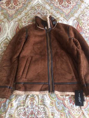 Brown leather jacket for Sale in Ashburn, VA