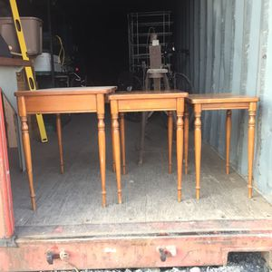 Antique Ethan Allen Nesting Tables for Sale in East Wenatchee, WA