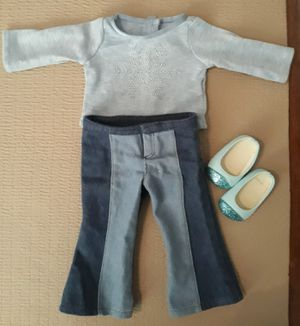 American girl doll outfit with shoes I'm in fontana message only when ready to pick up for Sale in Fontana, CA