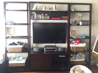 Crate & Barrel Sawyer leaning media center (no Bookshelves) for Sale in Los Angeles,  CA