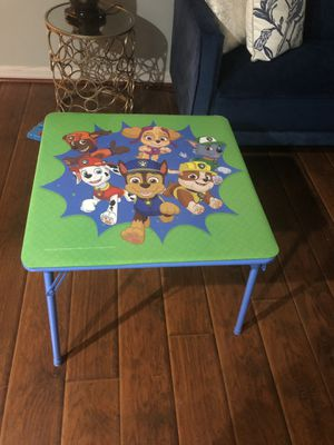 Kids table no chairs for Sale in Orlando, FL