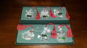 Marquis waterford crystals Christmas ornaments for Sale in Kent, WA