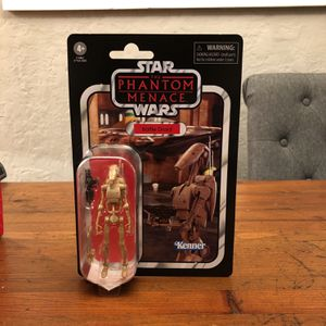 Star Wars The Vintage Collection #78 Battle Droid action figure new for Sale in Puyallup, WA