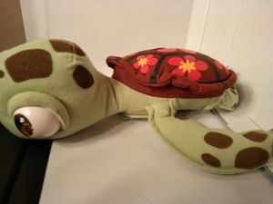 Disney Pixar Finding Nemo Talking Squirt baby sea turtle Plush Stuffed Animal for Sale in West Warwick, RI
