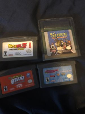Four GameBoy Advanced games for Sale in Dearborn Heights, MI