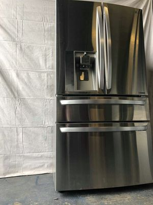 LG stainless steel French door refrigerator four door for Sale in Lakewood, CO