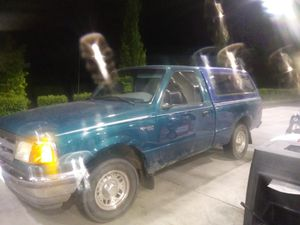1995 Ford Ranger with topper 5 speed for Sale in Seattle, WA