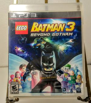 Lego Batman 3 Beyond Gotham for PlayStation 3 PS3 for Sale in Bakersfield, CA