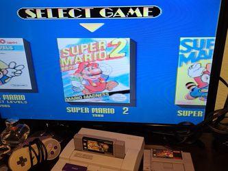 Super Nintemdo 1 Control 4 Games Ac Power for Sale in Dinuba,  CA