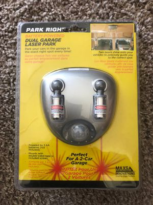 Park Right Dual Garage Laser Park for Sale in Bartow, FL