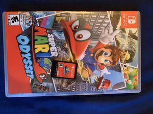 Super Mario Odyssey nintendo switch for Sale in Arlington, VA