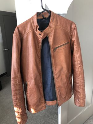 Zara Leather Jacket *Very Lightly Used* Size XL for Sale in Boston, MA