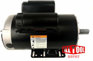 "5 HP 3450 RPM, 56 Frame, 230V, 22Amp, 7/8"" Shaft, Single Phase NEMA Air Compressor Motor - EM-05 for Sale in Phoenix, AZ"