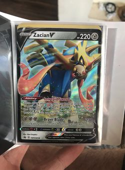 Zacian V Promo Card for Sale in Prineville,  OR