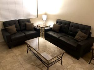 NEW!! Sofa and Love seat•12 payments of $37•same as cash•No credit check for Sale in Las Vegas, NV