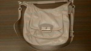 Taupe Leather COACH handbag purse for Sale in Norfolk, VA
