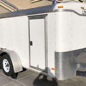 2012 Haulmark Tandem Enclosed Trailer 6x12 for Sale in Maricopa, AZ