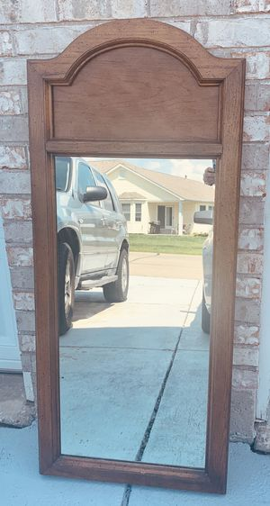 Large Wooden Standing Mirror for Sale in St. Peters, MO