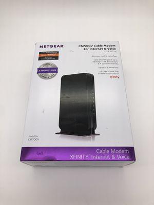 Netgear Modem CM500V for Sale in Dracut, MA