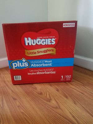 Huggies diapers size 1: 192 count for Sale in Lakehurst, NJ
