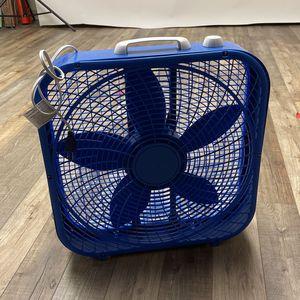 Blue Fan for Sale in San Diego, CA