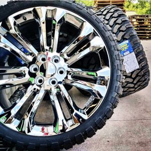 wheels and tires all 4 MONKEY WHEELS AND TIRES 4121 W Indian School Rd Phoenix, Az 85019 *480== 307==2141 for Sale in Scottsdale, AZ