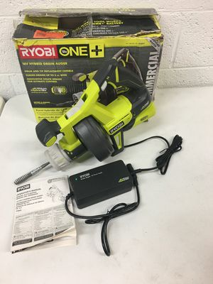 Ryobi 18 Volt Cordless Hybrid Drain Auger Tool Only Plug included for Sale in Mesa, AZ