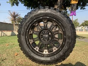 "20"" XD wheels with POR tires for Sale in Santa Fe Springs, CA"