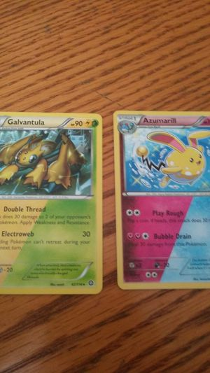 2 double energy pokemon cards for Sale in Temecula, CA