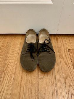 Birkenstock Olive Suede Shoes (Women's 7) for Sale in Washington,  DC
