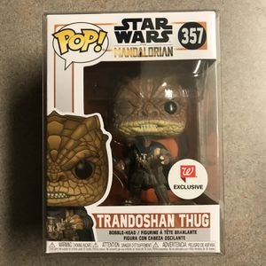 Trandoshan Thug Mandalorian Funko Pop Walgreens Exclusive Star Wars 357 with protector for Sale in Lewisville, TX