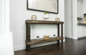 Wood console table for Sale in Austin, TX