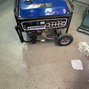 Power House Gasoline 7kW Generator for Sale in Plainview, NY