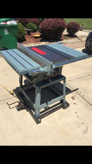 Delta contractor table saw for Sale in Lockport, IL