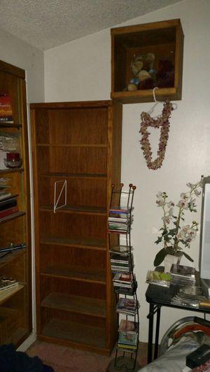 Bookcase and storage cube for Sale in El Centro, CA